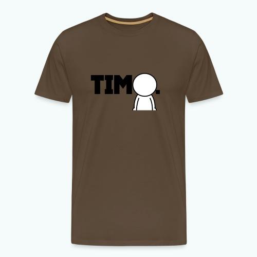 Design met ventje - Mannen Premium T-shirt