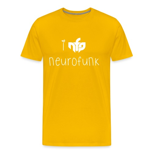 I Love Neurofunk - Men's Premium T-Shirt