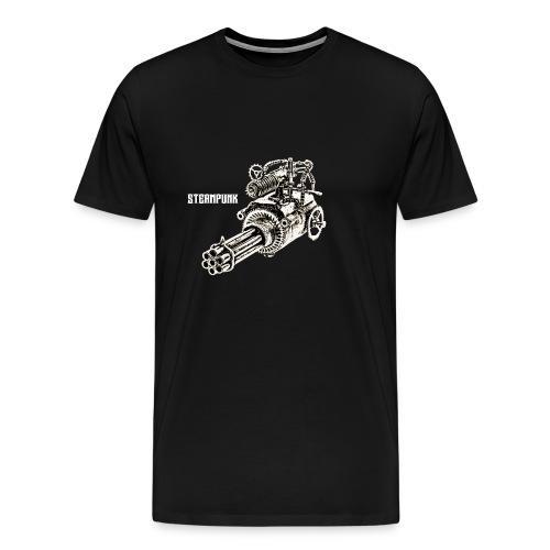 steam gun png - Männer Premium T-Shirt