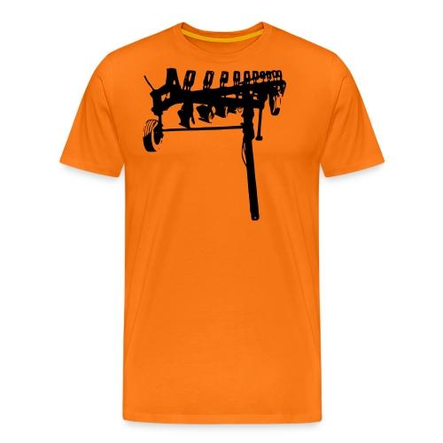 trailed plow - Men's Premium T-Shirt