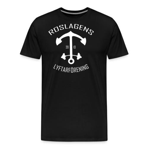 RLF LOGGA - Premium-T-shirt herr