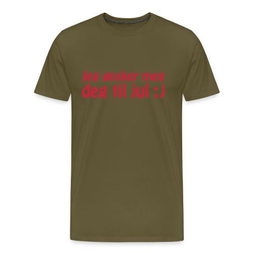 Jeg ønsker meg deg til jul :) - Men's Premium T-Shirt