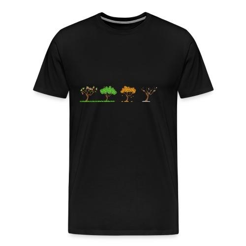 4 Jahreszeiten - Männer Premium T-Shirt