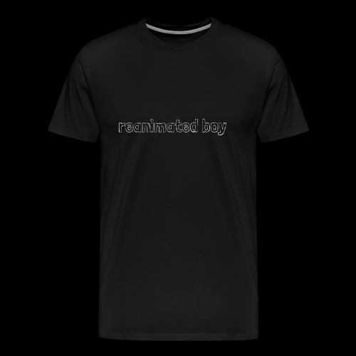 Reanimated boy logo - Men's Premium T-Shirt