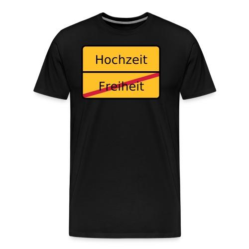 Hochzeit - Männer Premium T-Shirt