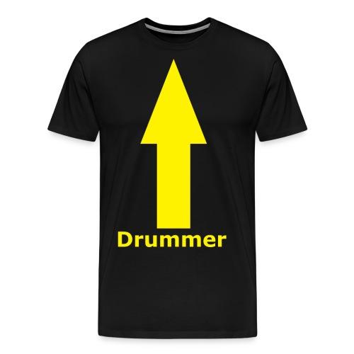 Drummer png - Men's Premium T-Shirt