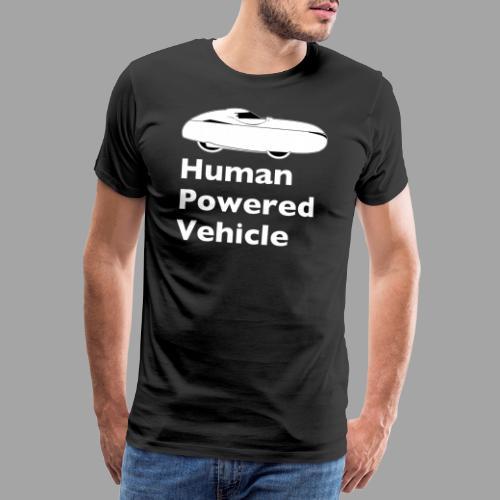 Quest Human Powered Vehicle 2 white - Miesten premium t-paita