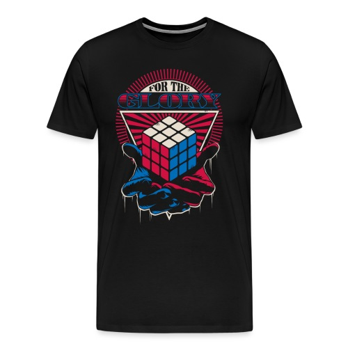 Rubik's For The Glory - Men's Premium T-Shirt