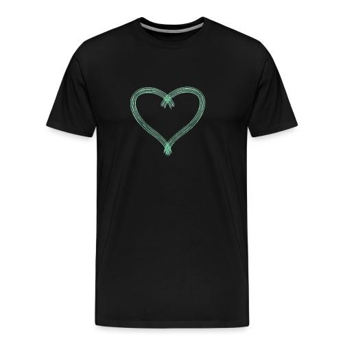 Green Heart - Men's Premium T-Shirt