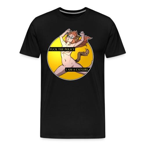 Catgirl - Männer Premium T-Shirt