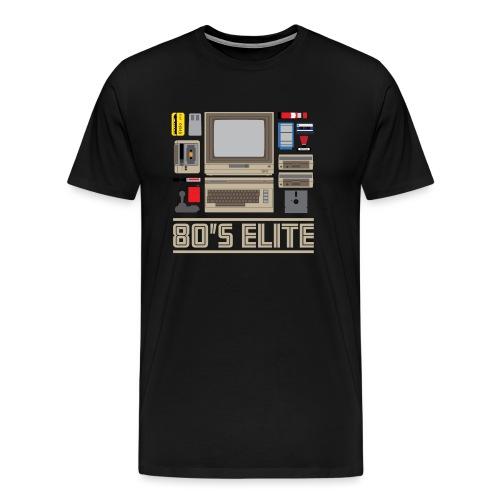 80 s Elite - Men's Premium T-Shirt
