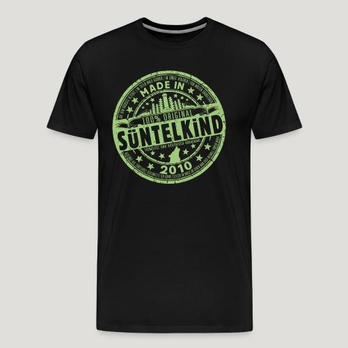SÜNTELKIND 2010 - Das Süntel Shirt mit Süntelturm - Männer Premium T-Shirt