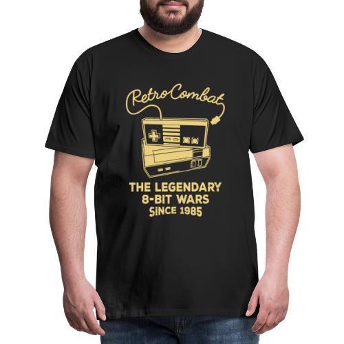 Retro Combat - The 8-Bit Wars - Männer Premium T-Shirt