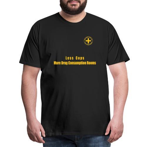 Less Cops - T-shirt Premium Homme