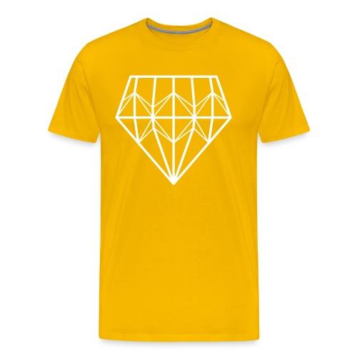 Diamond - Miesten premium t-paita