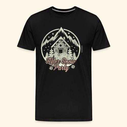 Apres Ski Party T Shirt After Snow Party - Männer Premium T-Shirt