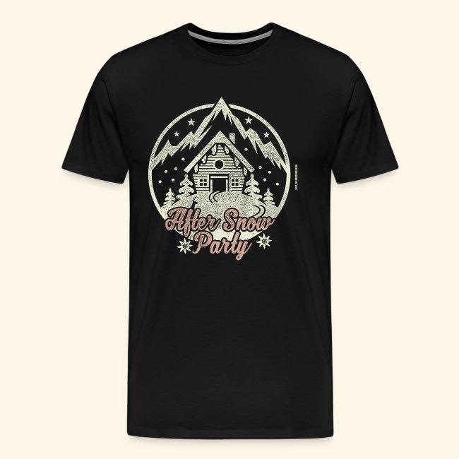 Apres Ski Party T Shirt After Snow Party