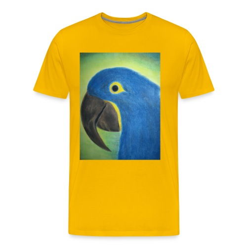 Hyasinttiara - Miesten premium t-paita