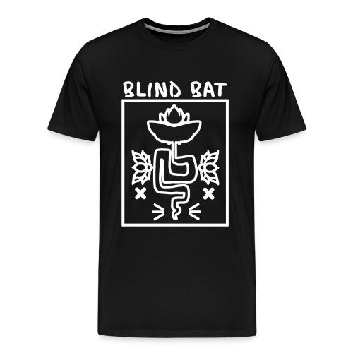 Blind Bat Lotus White Box - Men's Premium T-Shirt