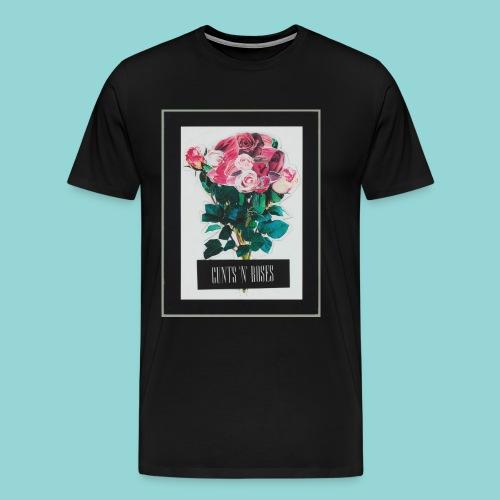 cunts_n_roses_MAIN - Männer Premium T-Shirt