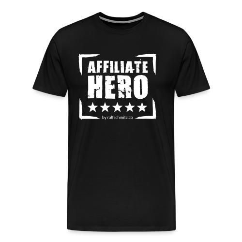 Affiliate Hero 2 final herren - Männer Premium T-Shirt