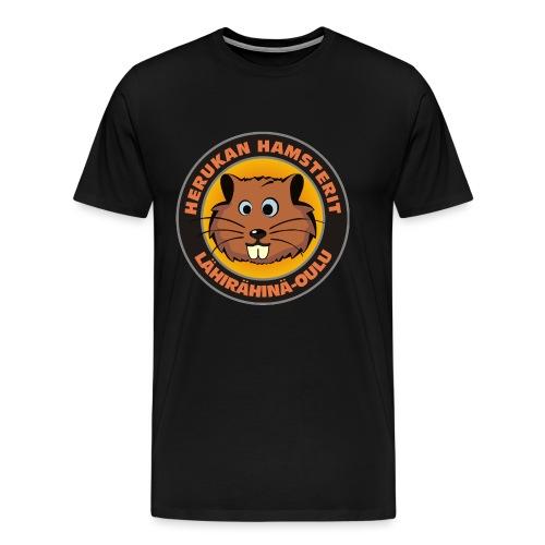 Herukan Hamsterit - Miesten premium t-paita