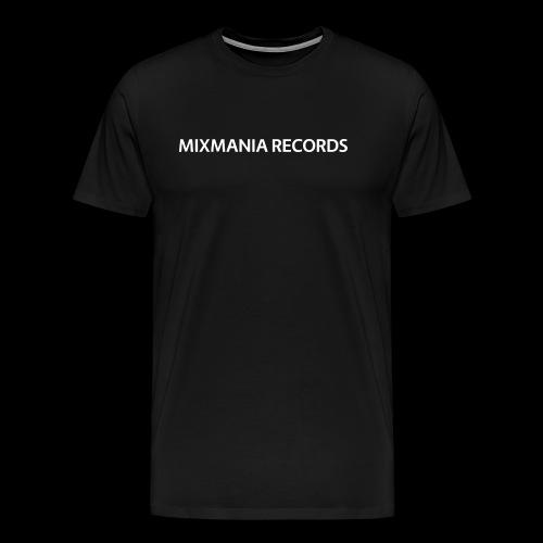 MIXMANIA RECORDS WHITE - Men's Premium T-Shirt