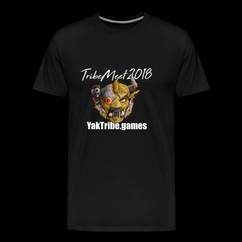 YakTribe Tribemeet 2018 Dark - Men's Premium T-Shirt
