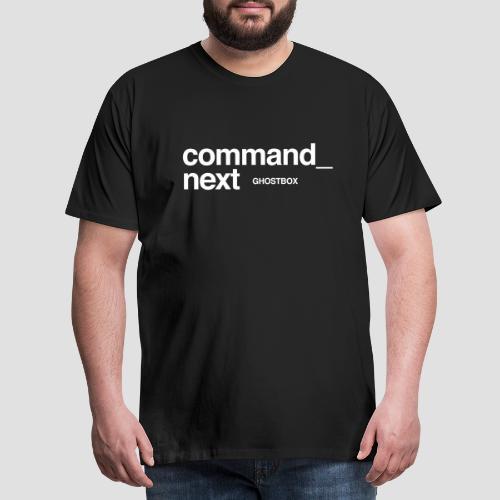 Command next - Männer Premium T-Shirt