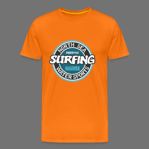 North Sea Surfing - Men's Premium T-Shirt