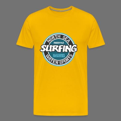 North Sea Surfing - Men's Premium T-Shirt