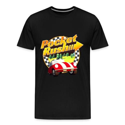 tshirt pocket rush - Men's Premium T-Shirt