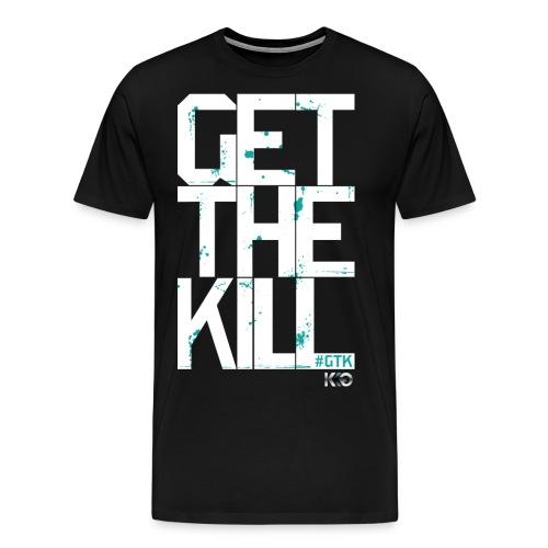 #GTK - White - Men's Premium T-Shirt