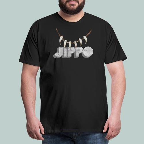 jippo_retro_torahampaat - Miesten premium t-paita