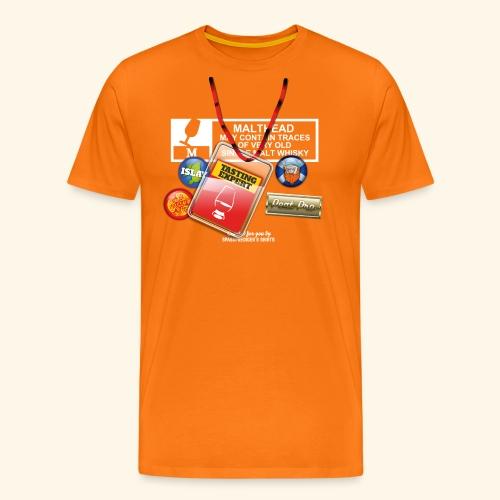 Whisky T Shirt Tasting Expert - Männer Premium T-Shirt