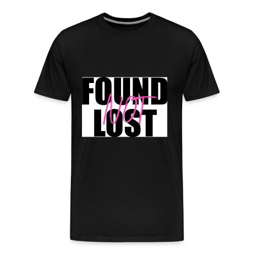 FOUND not LOST - Men's Premium T-Shirt