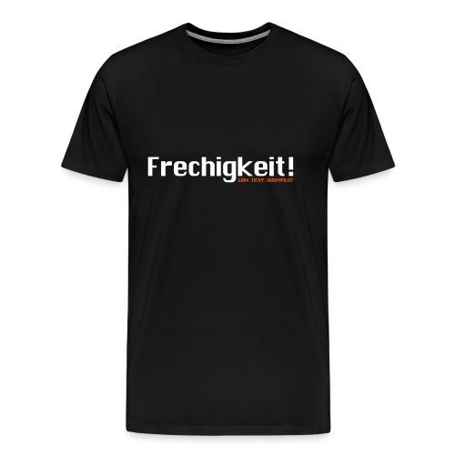 frechigkeit vektor - Männer Premium T-Shirt