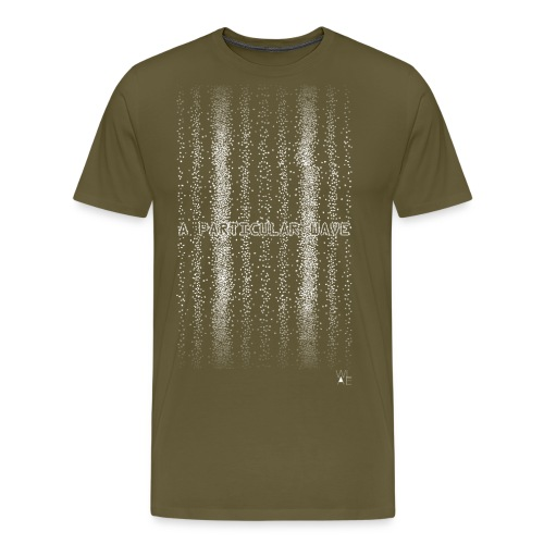 A particular wave white png - Men's Premium T-Shirt