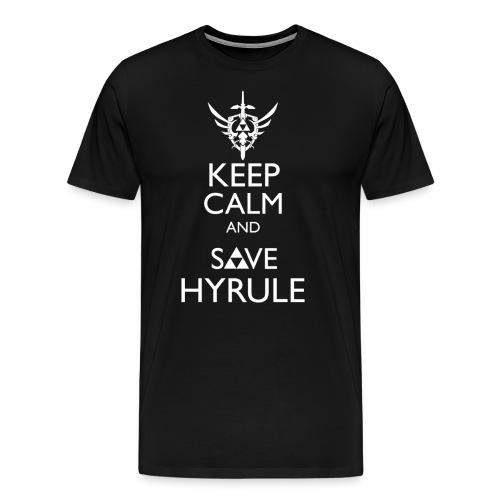Keep Calm & Save Hyrule - Men's Premium T-Shirt