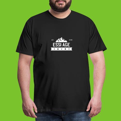 Mountain Two - Männer Premium T-Shirt