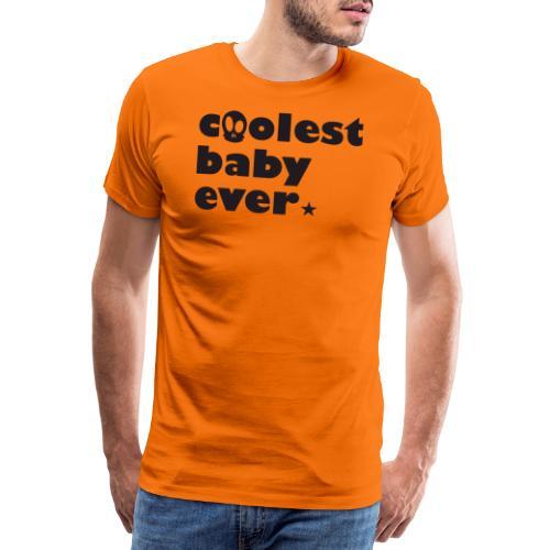 Coolest Baby ever - Männer Premium T-Shirt