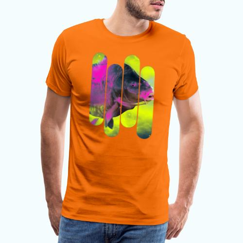 Neon colors fish - Men's Premium T-Shirt