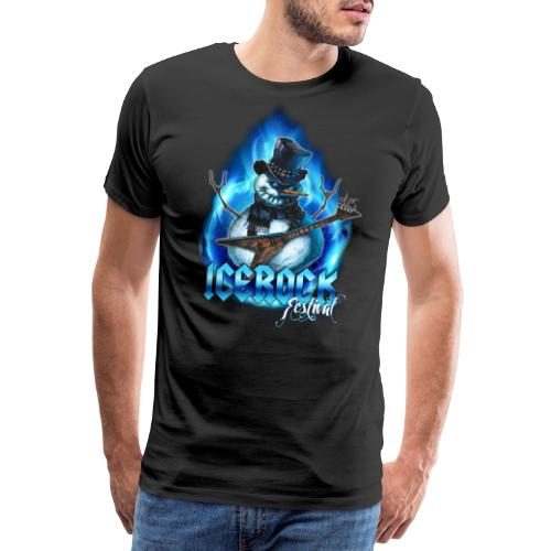 Snowman Evil - Männer Premium T-Shirt