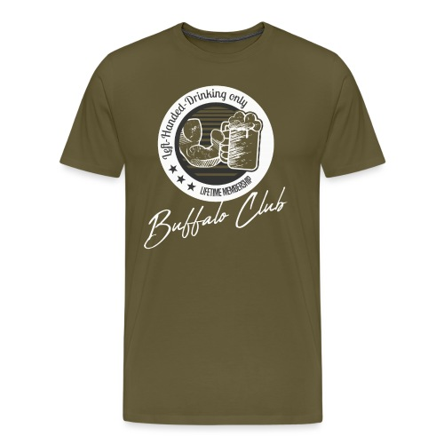 Buffalo Club Strong Arm - Men's Premium T-Shirt