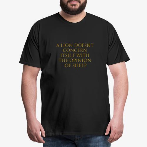 LionSheep - Männer Premium T-Shirt