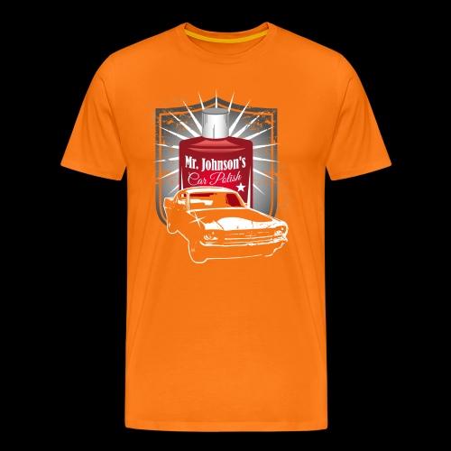Mr. Johnson´s Car Polish - Männer Premium T-Shirt