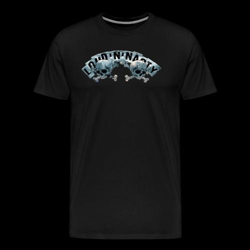 Skull Logo - Premium-T-shirt herr