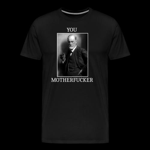 Sigmund Freud MEME - T-shirt Premium Homme