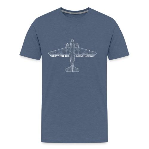 Daisy Blueprint Top 2 - Premium-T-shirt herr
