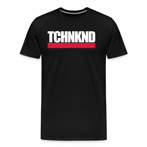 TCHNKND Technokind MNML Schriftzug - Männer Premium T-Shirt